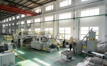 SPC 地板生产线